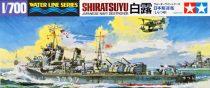 Tamiya IJN JAPANESE NAVY DESTROYER SHIRATSUYU makett