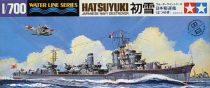Tamiya IJN JAPANESE NAVY DESTROYER HATSUYUKI makett