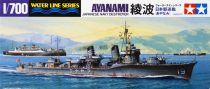 Tamiya IJN JAPANESE NAVY DESTROYER AYANAMI makett