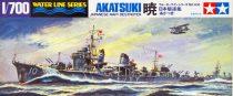 Tamiya IJN JAPANESE NAVY DESTROYER AKATSUKI makett