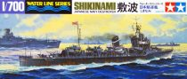 Tamiya IJN JAPANESE NAVY DESTROYER SHIKINAMI makett
