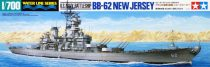 Tamiya BB-62 New Jersey Model Ships makett