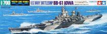 Tamiya US NAVY BATTLESHIP BB-61 IOWA makett