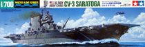 Tamiya US NAVY AIRCRAFT CARRIER CV-3 SARATOGA makett