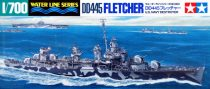 Tamiya US NAVY DESTROYER DD445 FLETCHER makett