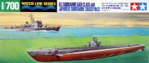Tamiya US SUBMARINE GATO CLASS & JAPANESE CHASER NO.13 makett