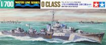Tamiya BRITISH DESTROYER O CLASS makett
