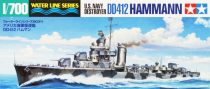 Tamiya US NAVY DESTROYER DD412 HAMMANN makett