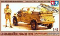Tamiya Kübelwagen Type 82 Afrika-Korps makett