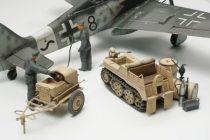 Tamiya German Kettenkraftrad w/Aircraft Power Supply makett