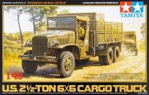 Tamiya U.S. 2.5 Ton 6x6 Cargo Truck makett