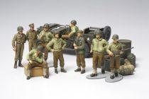 Tamiya US Infantry At Rest makett