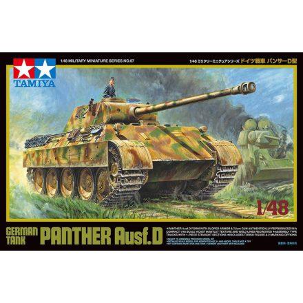 Tamiya German Tank Panther Ausf. D makett