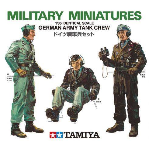 Tamiya German Army Tank Crew