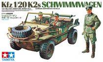 Tamiya Schwimmwagen Kfz.1/20K2s German Amphibious jeep makett