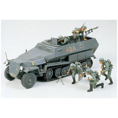 Tamiya German Hanomag Sdkfz 251/1 makett