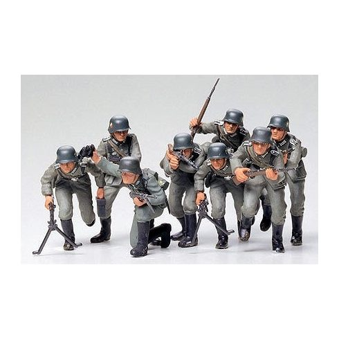 Tamiya German Assault Troops