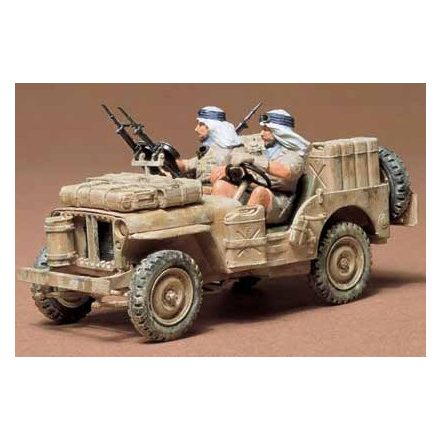 Tamiya British SAS Jeep makett
