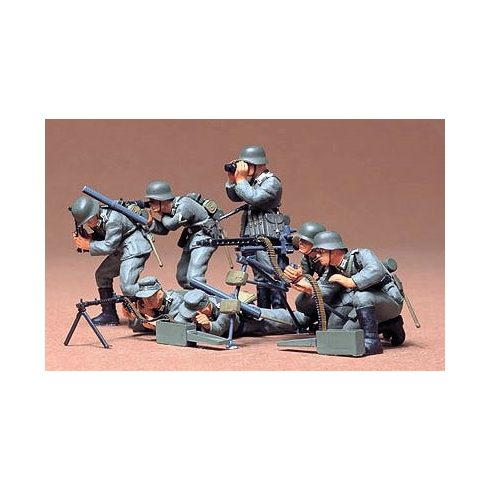 Tamiya German Machine Gun Troops Kit