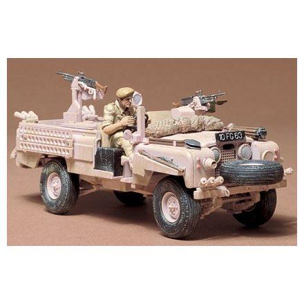 Tamiya British SAS Land Rover makett