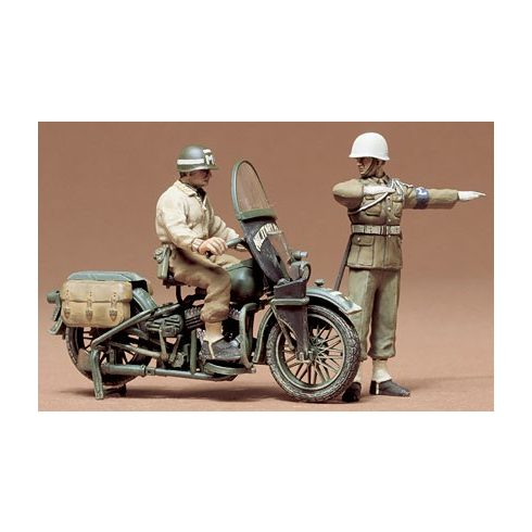 Tamiya U.S. Military Police Set Kit makett