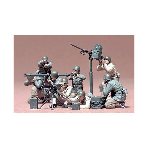 Tamiya U.S. Gun and Mortar Team Kit