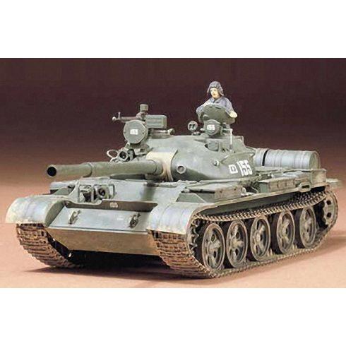 Tamiya Russian T-62 Tank makett