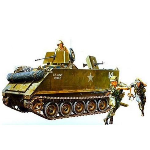 Tamiya US M113 Arm.Cavalry Assault Veh.(3) makett