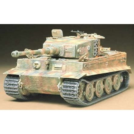 Tamiya German Heavy Tiger I Late Ver makett