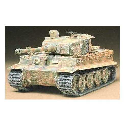 Tamiya German Heavy Tiger I Late Ver makett