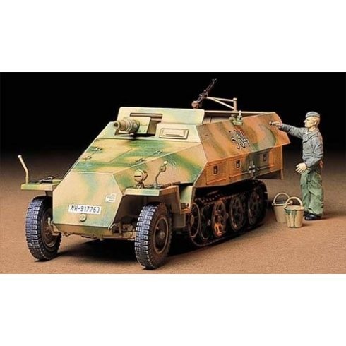 Tamiya German Sdkfz 251/9 Kannwgn makett