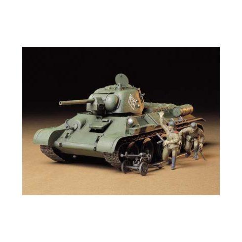 Tamiya Russian T34/76 Ch makett