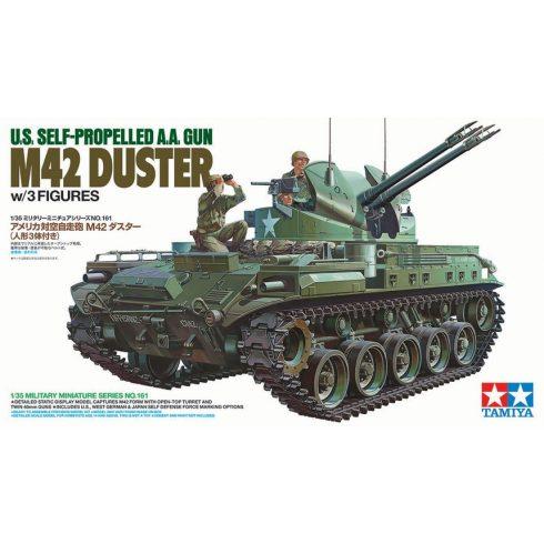 Tamiya U.S. Self-propelled A.A. Gun M42 Duster makett