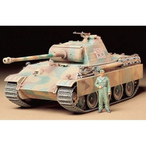 Tamiya PANTHER TYPE G makett