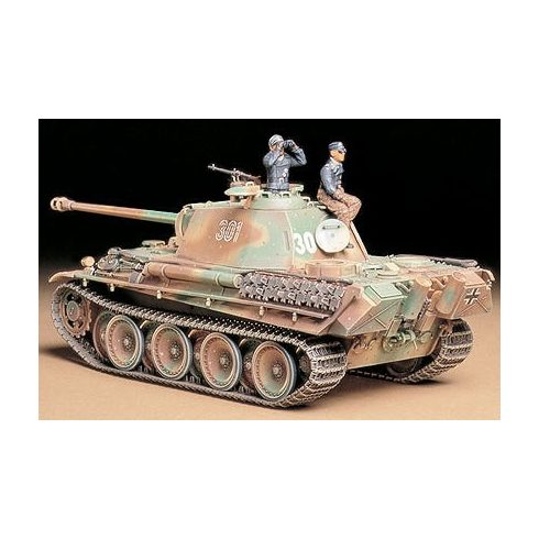 Tamiya Panther Type G Late makett