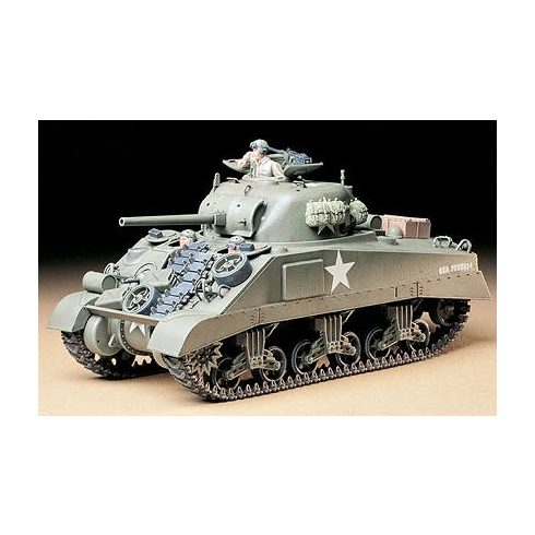 Tamiya U.S. Medium Tank M4 Sherman Early makett