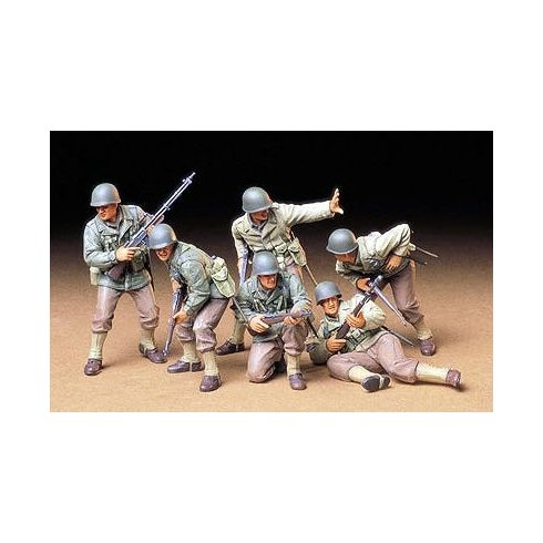 Tamiya U.S. Army Assault Infantry Set