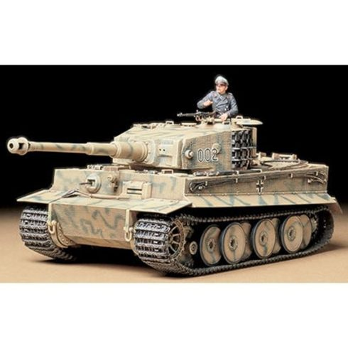 Tamiya GERMAN TIGER I MID PRODUKTI makett