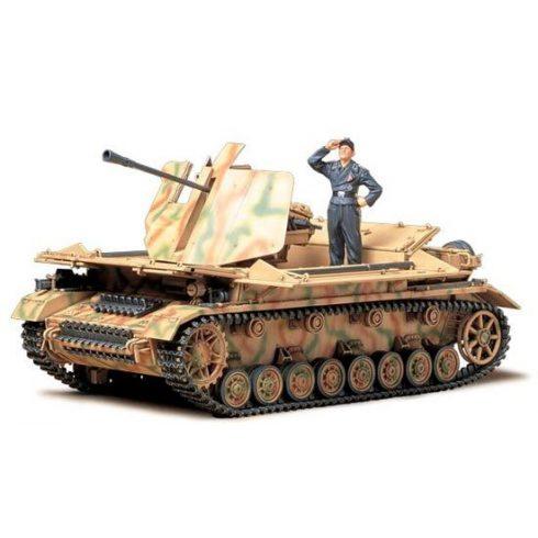 Tamiya German AA Gun Mobelwagen makett