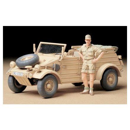 Tamiya German Kubelwagen Type 82 - Africa Corps makett