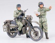 Tamiya JGSDF Motorcycle Recon. Set makett