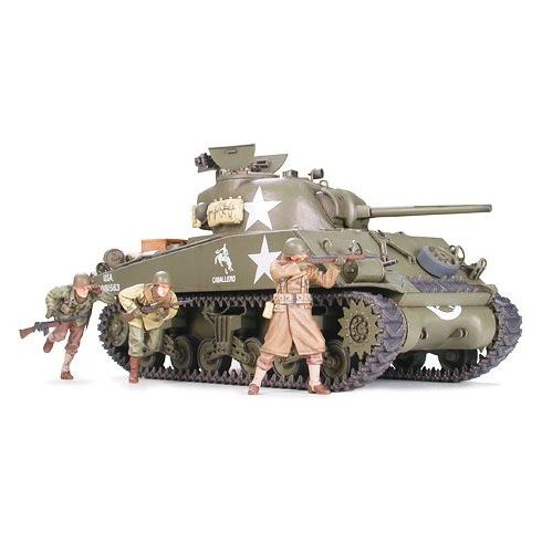Tamiya U.S. M4A3 Sherman 75mm Gun makett
