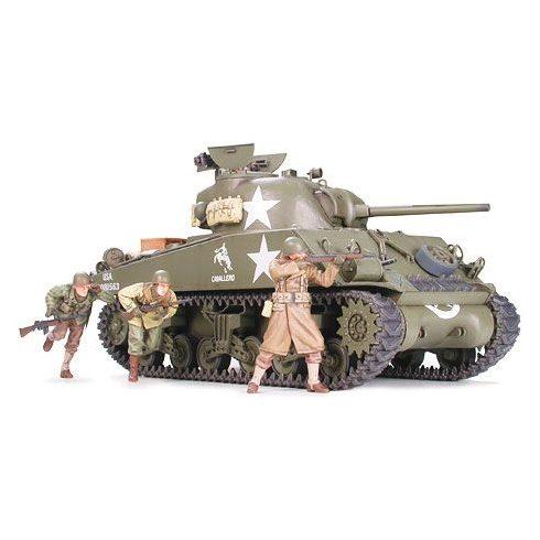 Tamiya U.S. M4A3 Sherman 75mm Gun makett