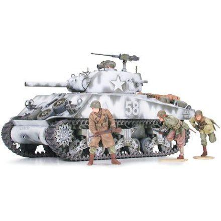 Tamiya M4A3 Sherman Howitzer makett
