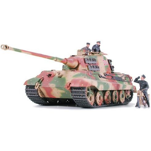 Tamiya German King Tiger - Ardennes Front makett