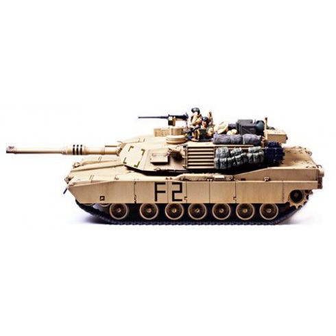 Tamiya M1A2 Abrams Main Battle Tank makett