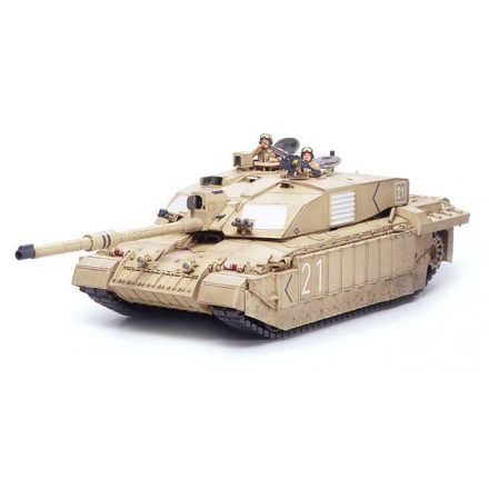 Tamiya British MBT Challenger 2 - Desertised makett