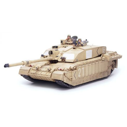 Tamiya British MBT Challenger 2 - Desertised makett