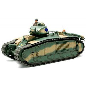 Tamiya French Battle Tank Char B1 makett