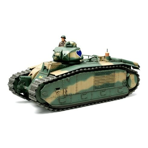 Tamiya French Battle Tank Char B1 makett